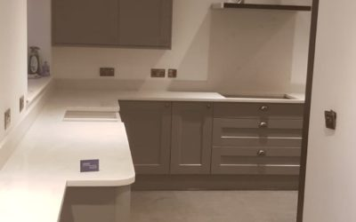 Complete kitchen refurbishment completed in Somerby