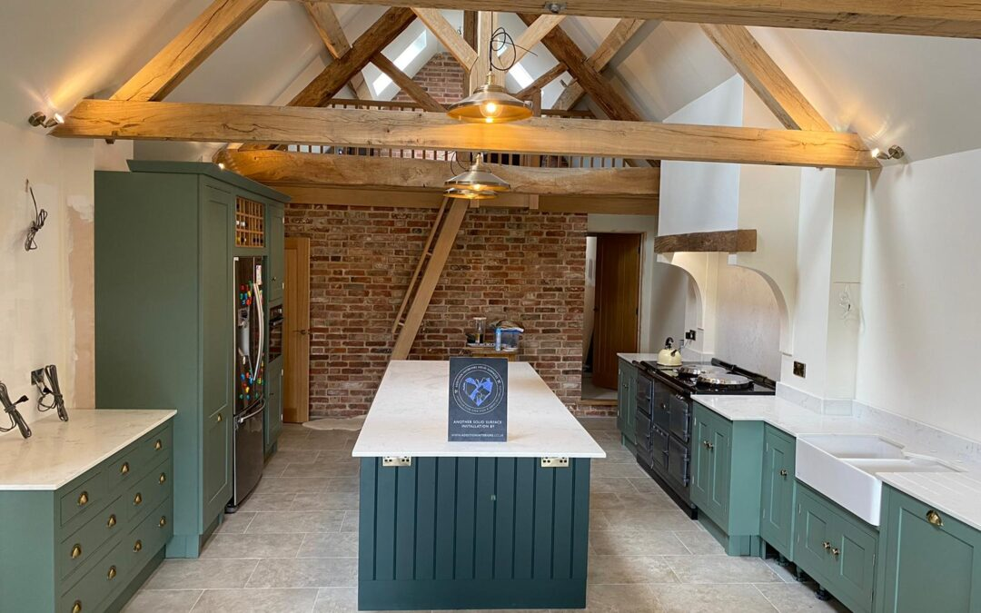 Supplying solid surface kitchen worktops across the UK