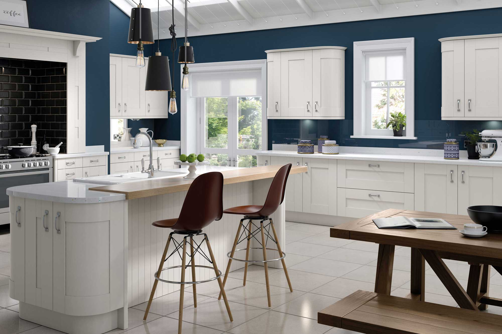 Traditional kitchens with Addition Interiors_KITCHEN DESIGN EAST MIDLANDS 5